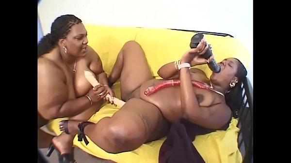 Busty black lesbian #4