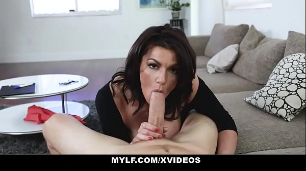 MYLF - Sexy Cougar Therapist Gets Titty Fucked By Hot Patient