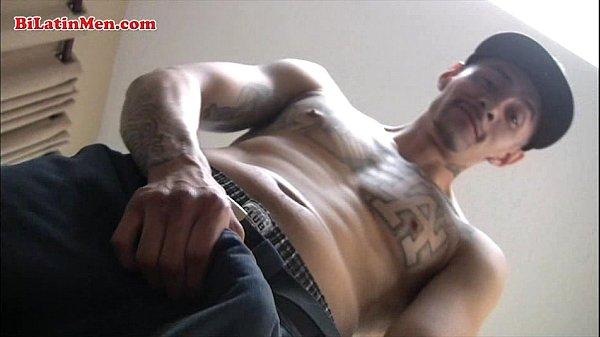 Latin guy with big Latin cock