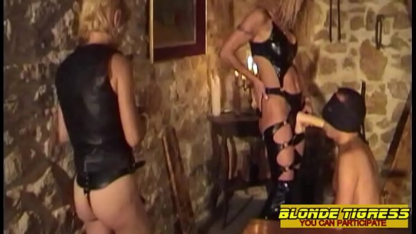 2 amalteur domina and their anal slave - amateur milfs compilation Thumb