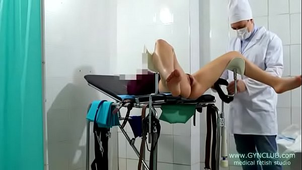 Young girl get orgasm on gyno table