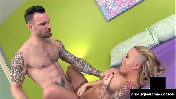 Big Cock Alex Legend Plows His Dick In Tattooed...