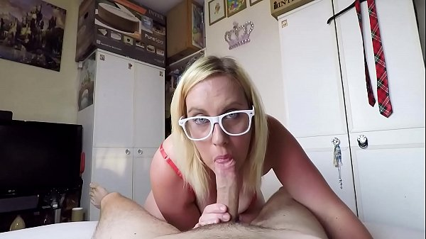 Edging Him For 10 Minutes Until He Has An Intense Orgasm And Cumshot