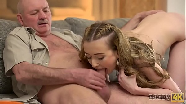 DADDY4K. Mature dad makes closer acquaintance with young beauty Jessi Thumb
