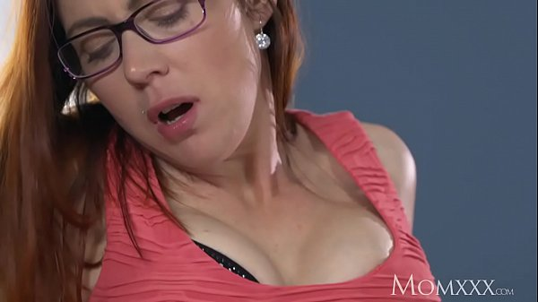 MOM Husband caught wanking is finished off by redhead milf in stockings Thumb