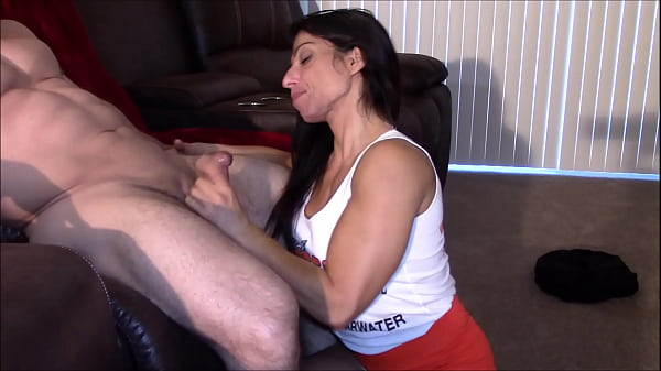 Blowjob and swallow from Alexis Rain