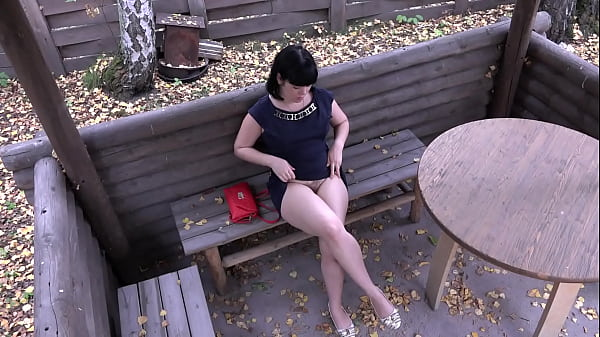 Voyeur with a hidden camera spying on brunette outdoor. Public pissing and hairy pussy masturbation. Fetish compilation. Thumb