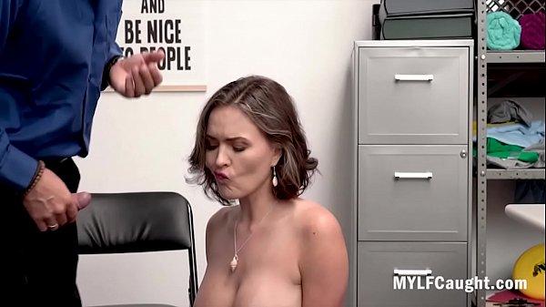 MILF Didn't Think Cop Would Check Her Ass- Krissy Lynn