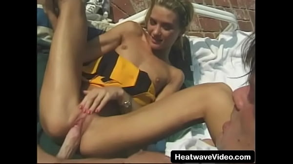 Young girl fucked by daddy while sunbathing