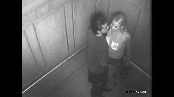 Couple have sex in elevator forgot there is a c...