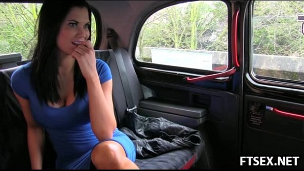 Huge titted Jasmine fucks in a taxi