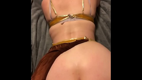 Halloween party mix up han fucks princess leia and accidental creampie
