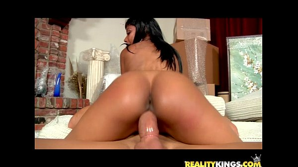 Bella Moretti gets her sweet ebony pussy pounded by Ramon