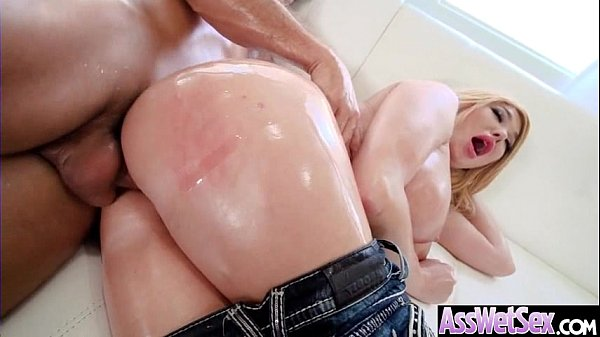 Big Ass Wet Oiled Girl (Summer Brielle) Get Nailed Deep In Her Behind clip-29