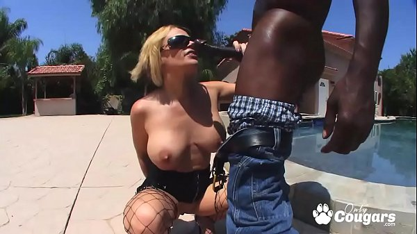 Sunny Day Opens Her Ass & Lets A Black Guy Slide His Dick Inside