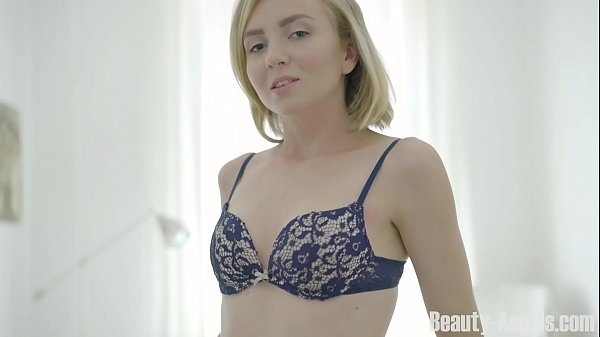 Beauty-Angels.com - Lucy B - Cutie orgasms alone in bed