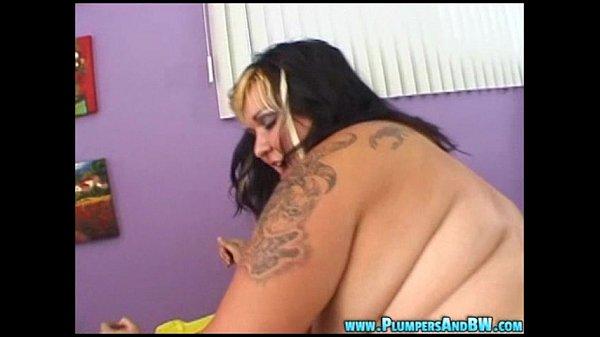 BBW Talisa Brown Sucks and Fucks A Big Cock