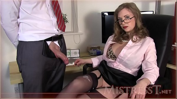 Testing New Office Fucktoy - Mistress T
