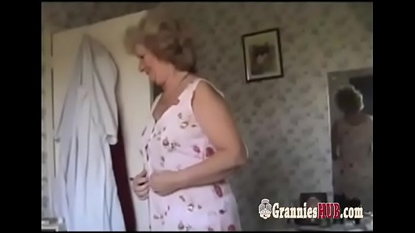 Amateur Granny Blonde And Her Husband Make Love