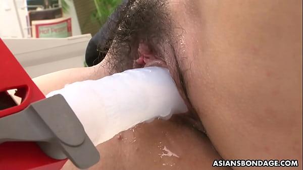 Asian-gets-dicks-shoved cute
