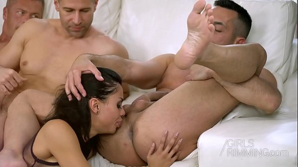 Colombian Pornstar Canela Skin Ass Licking 3 Guys - Girls Rimming Thumb