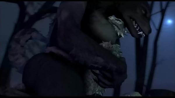 Agorian fucking thicc werewolf