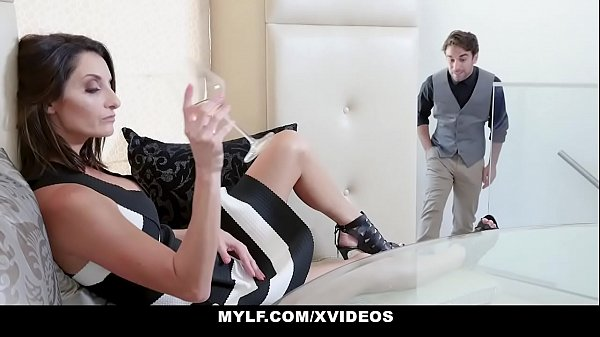 MYLF - Bossy Cougar (Silvia Saige) Dominates Her Husband's Employee