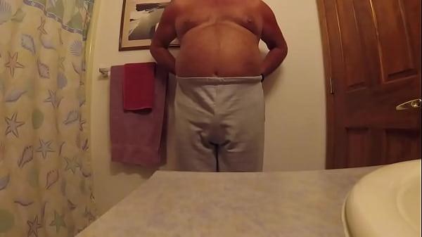 Sissy Has a Boner in His Pants