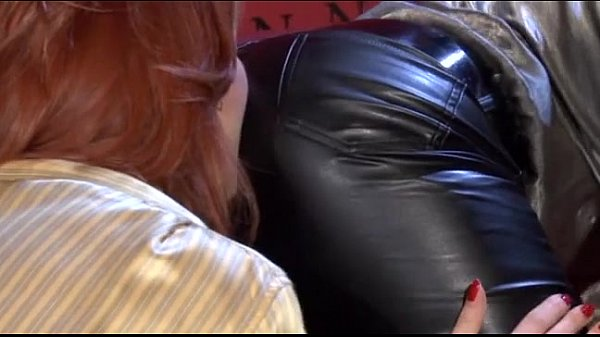 Hot Lesbians In Leather Pants