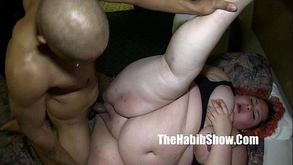 monster dick redzilla bangs her BBW white pussy mixed ho p2 (new