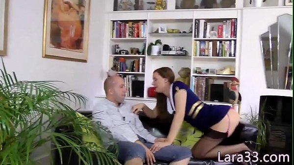 Cosplay british mature sucking cock until cum