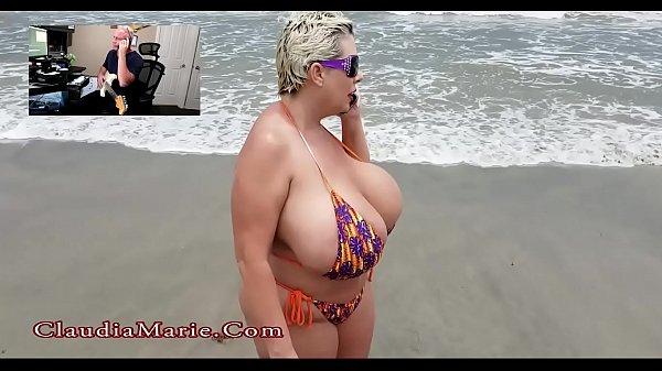 Claudia Marie Big Tit Beach Anal Sex Thumb