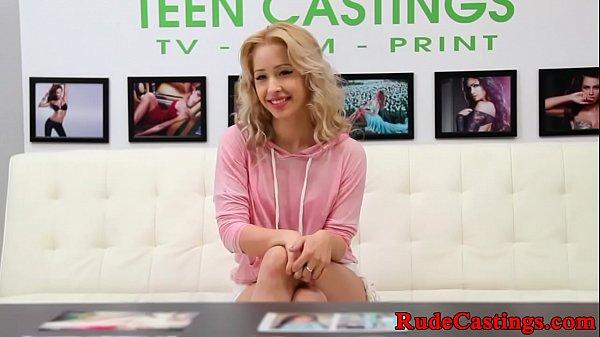 b. casting for cum tasting petite teen