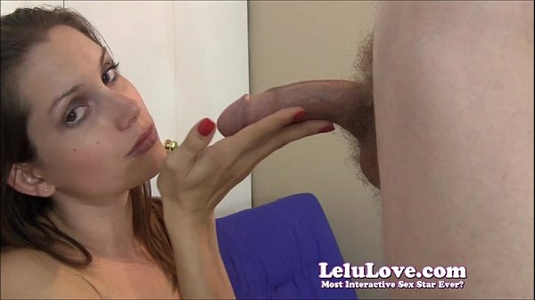 Lelu Love Sexy Blowjob With Red Fingernails