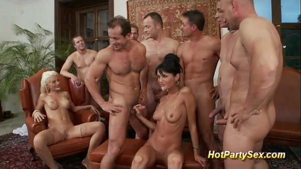 cute girls in business party orgy Thumb