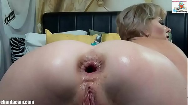 Webcam - Analfist with messy prolapse and squirt Thumb