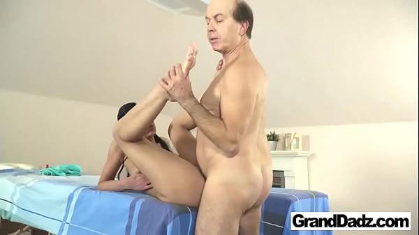 Full Body Massage for Old Fart