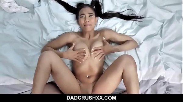 K-Pop Daughter Pussy Popping - Jada Kai