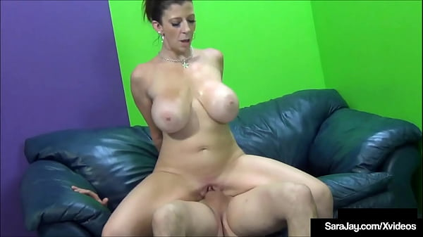 Pussy Leaking PAWG Sara Jay Cums While She Has A Cock Inside Her! Thumb
