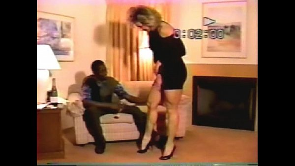 Chrissy and Black Lover - Real Amateur VHS