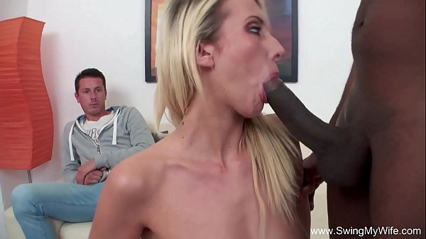 Black Cock For Cheating Blonde Wife