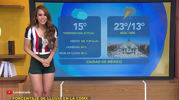 Weather girl ass Thumb