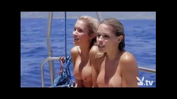 Nude Girls in a Shark Cage! Thumb