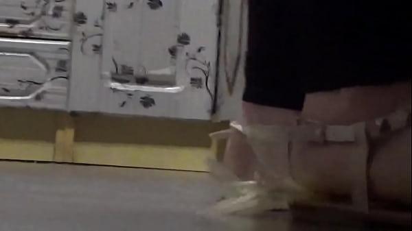Giantess crush in shoe