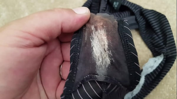 Very smelly wife's dirty panties
