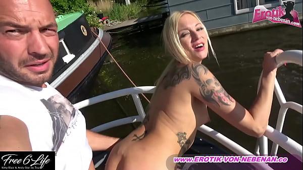deutsche dünne amateur blonde schlampe fickt ou...