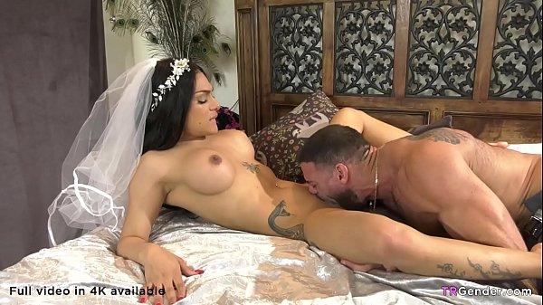 Tranny Bride Eva Maxim And Her Husband