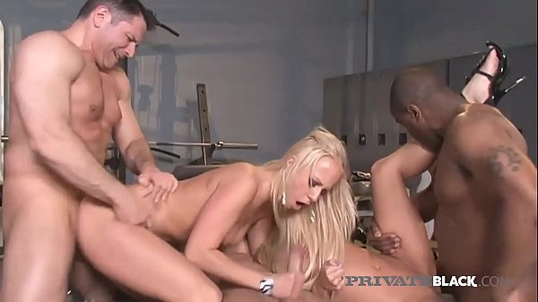 PrivateBlack Amy Brooke, Carla Cox & Bobbi Starr Do BBC Orgy