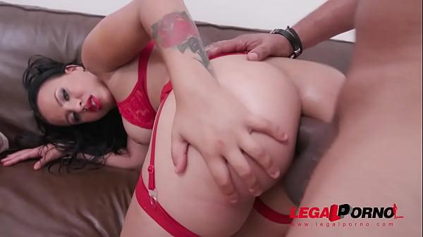 Elisa Santos assfucked by Ed j.'s huge cock YE030