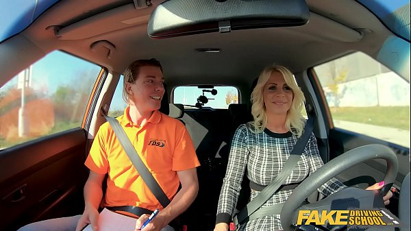Fake Driving School Blonde MILF Tiffany Russo F...